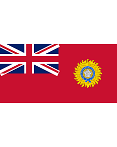 Fahne: British Raj Red Ensign