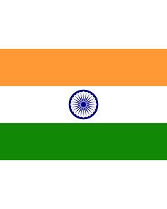 Fahne: Indien