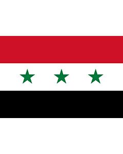 Fahne: Iraq 1963-1991