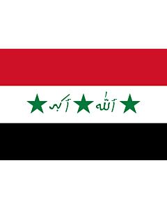 Fahne: Iraq 1991-2004