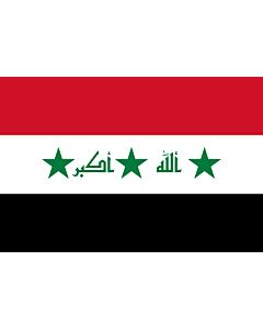 Fahne: Iraq 2004-2008
