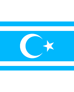 Fahne: Iraq Turkmen Front   Vectorized version of Flag of Iraq Turkmen Front