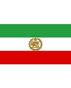 Fahne: Naval Ensign of Iran 1964-1979