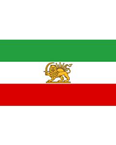 Fahne: State Iran 1964