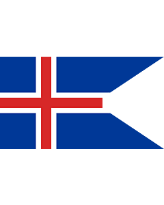 Fahne: Island