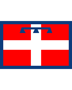 Fahne: Piedmont