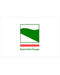 Fahne: Emilia-Romagna