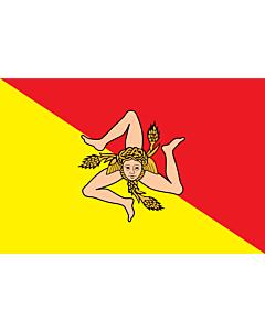 Fahne: Sizilien