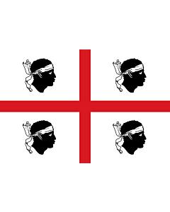 Fahne: Sardinia