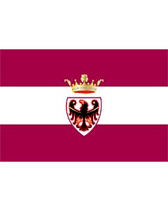 Fahne: Provinz Trento