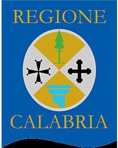 Fahne: Calabria Gonfalone