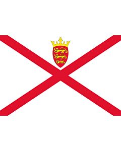 Fahne: Jersey (Kanalinsel)
