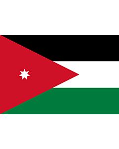 Fahne: Jordanien