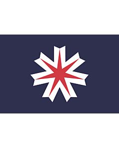 Fahne: Hokkaidō