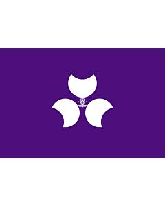 Fahne: Präfektur Gunma