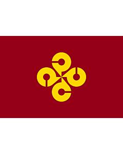 Fahne: Präfektur Shimane