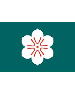 Fahne: Präfektur Saga