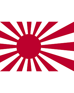 Fahne: Naval Ensign of Japan