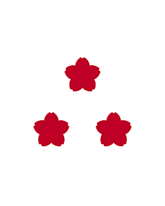 Fahne: Standard of Vice Admiral  JMSDF | Marque de le Vice-amiral de la Force maritaime d autodéfense japonaise | Viceammiraglio della Forza di autodifesa marittima | 海将旗