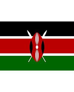 Fahne: Kenia