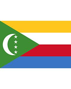Fahne: Komoren