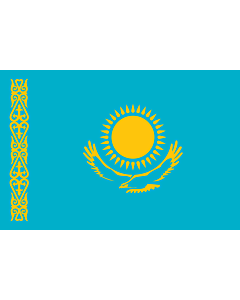 Fahne: Kasachstan