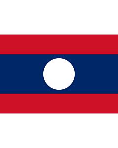 Fahne: Laos