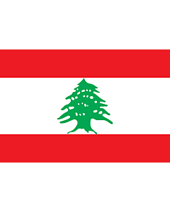 Fahne: Libanon