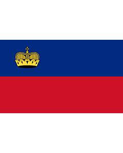 Fahne: Liechtenstein