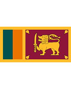 Fahne: Sri Lanka