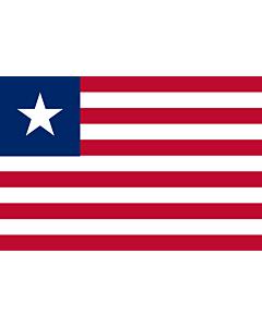 Fahne: Liberia
