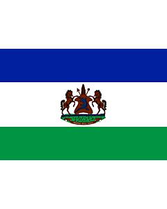 Fahne: Royal Standard of Lesotho | Royal Standard of Lesotho from October 4, 2006