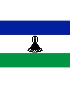 Fahne: Lesothos
