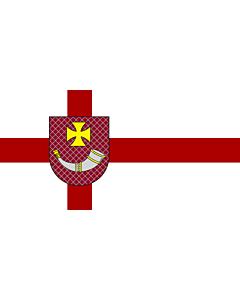 Fahne: Ventspils | City of Ventspils, Latvia | Ventspils pilsētas karogs | Флаг города Вентспилс