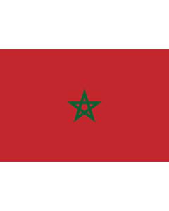 Fahne: Marokko