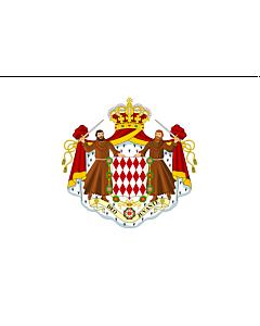 Fahne: Monaco