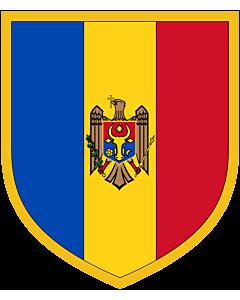 Fahne: Scudetto Moldova