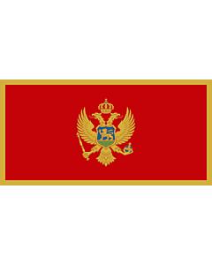 Fahne: Montenegro