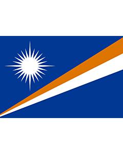 Fahne: Marshallinseln