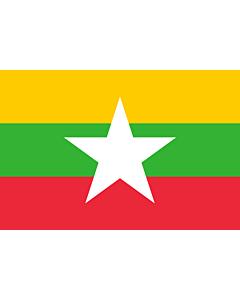 Fahne: Myanmar (Burma)