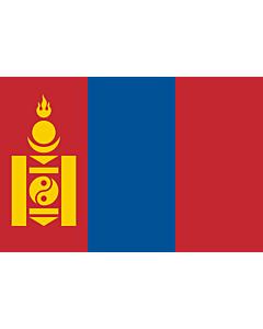 Fahne: Mongolei