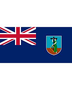 Fahne: Montserrat
