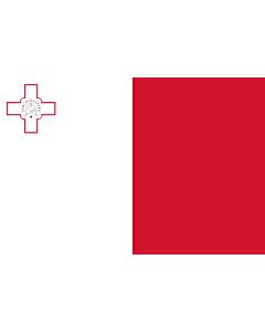 Fahne: Malta  variant | Malta | Ta  Malta