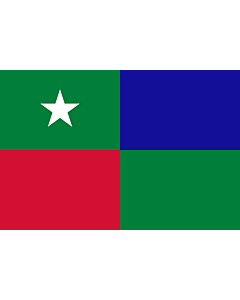 Fahne: Standard of the Prime Minister of the Maldives