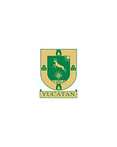 Fahne: Yucatán