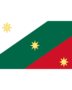 Fahne: First flag of the Mexican Empire | Mexican Regency  First flag of the Mexican Empire