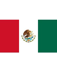 Fahne: Mexico  reverse