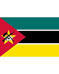 Fahne: Mosambik