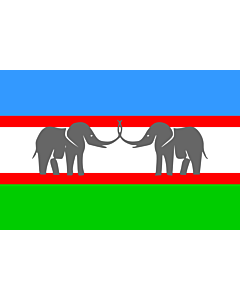 Fahne: CANU | Caprivi African National Union of the Free State of Caprivi Strip/Itenge
