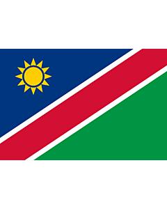 Fahne: Namibia